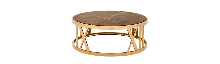 Small And Large Round Coffee Table, Small Round Coffee Tables